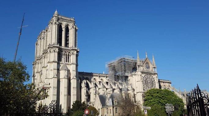 Notre Dame Paris nach dem Brand