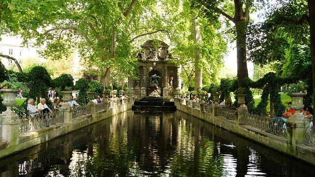Jardin du Luxembourg Brunnen