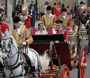 英王室の結婚式