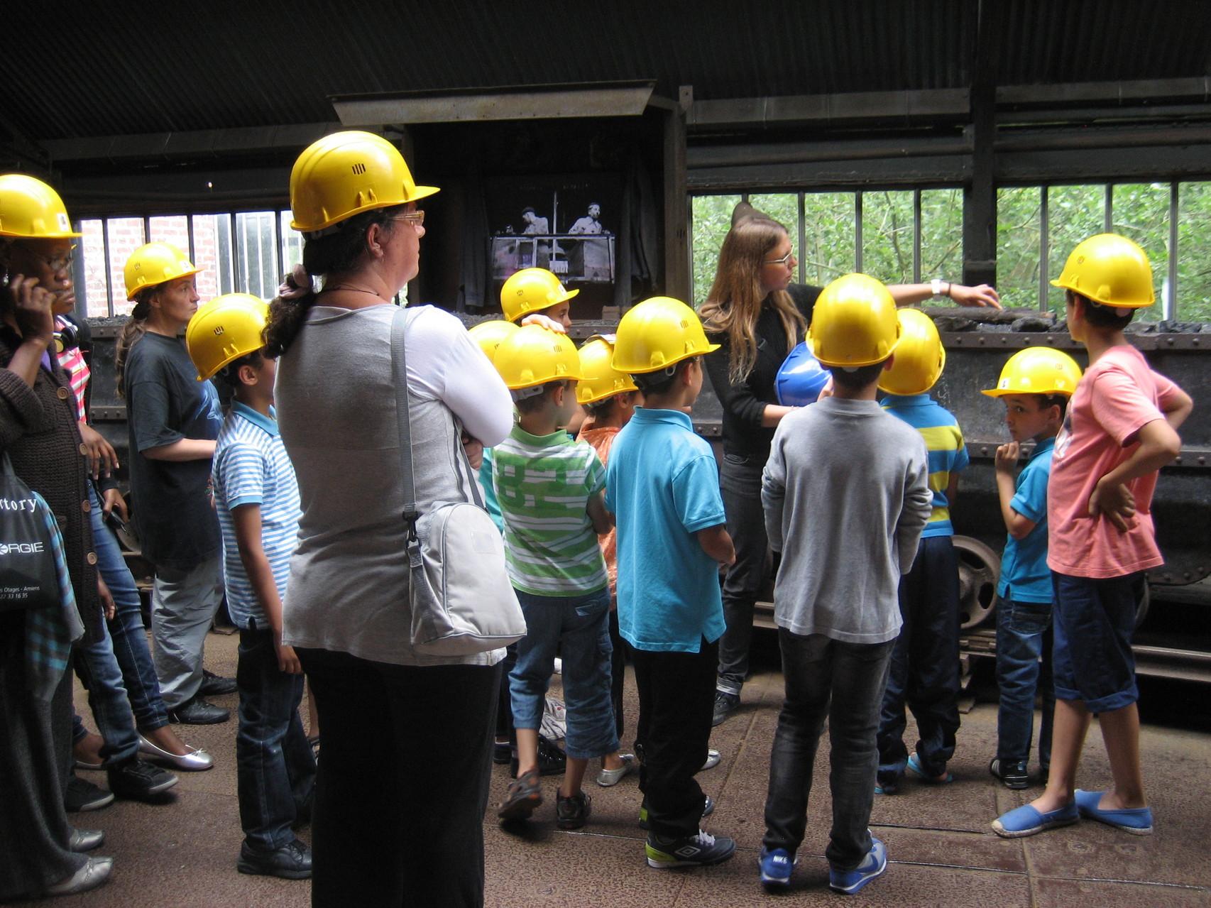 Sortie musée de la mine de Lewarde - juillet 2013