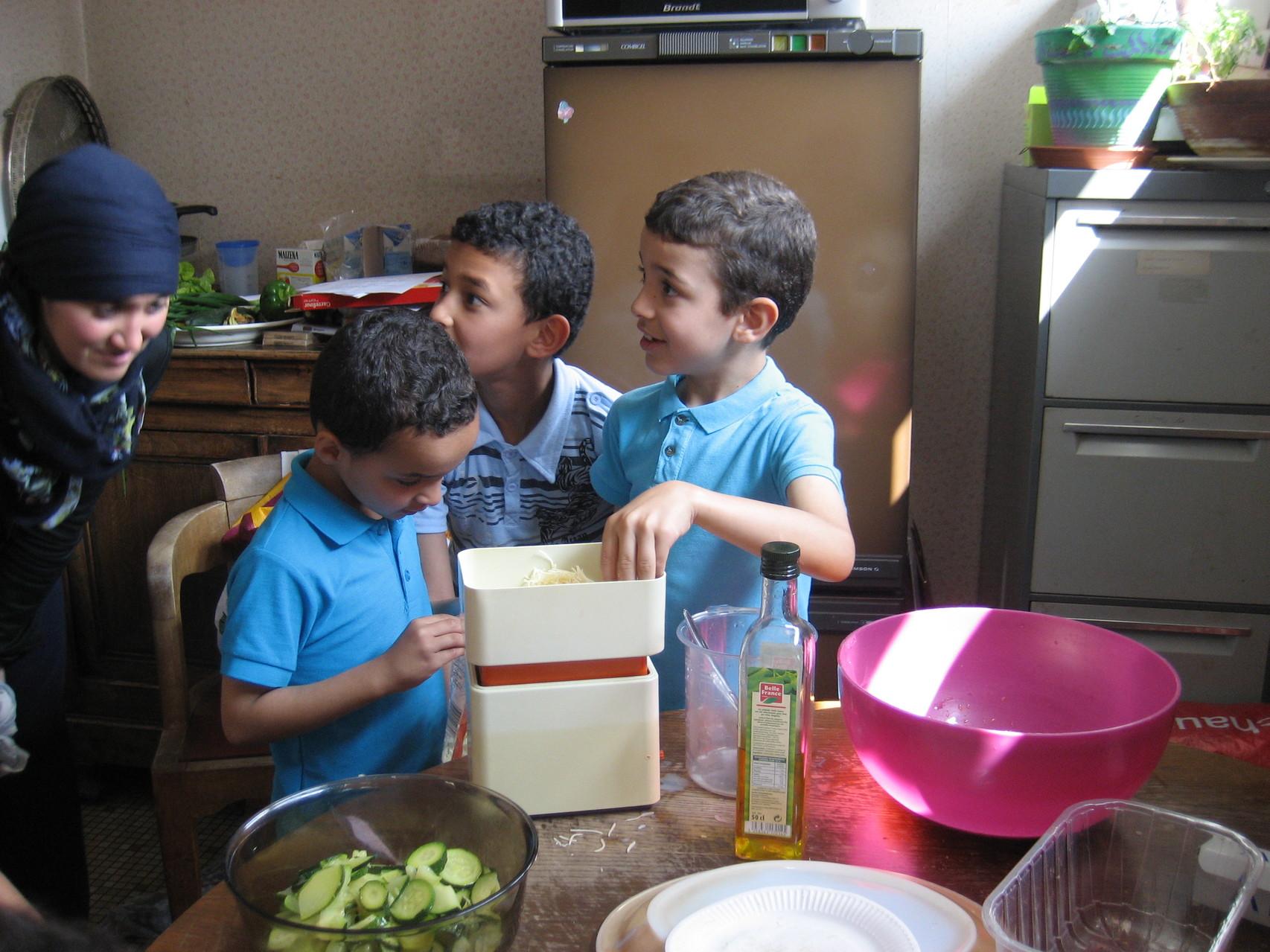 Atelier cuisine - juillet 2013