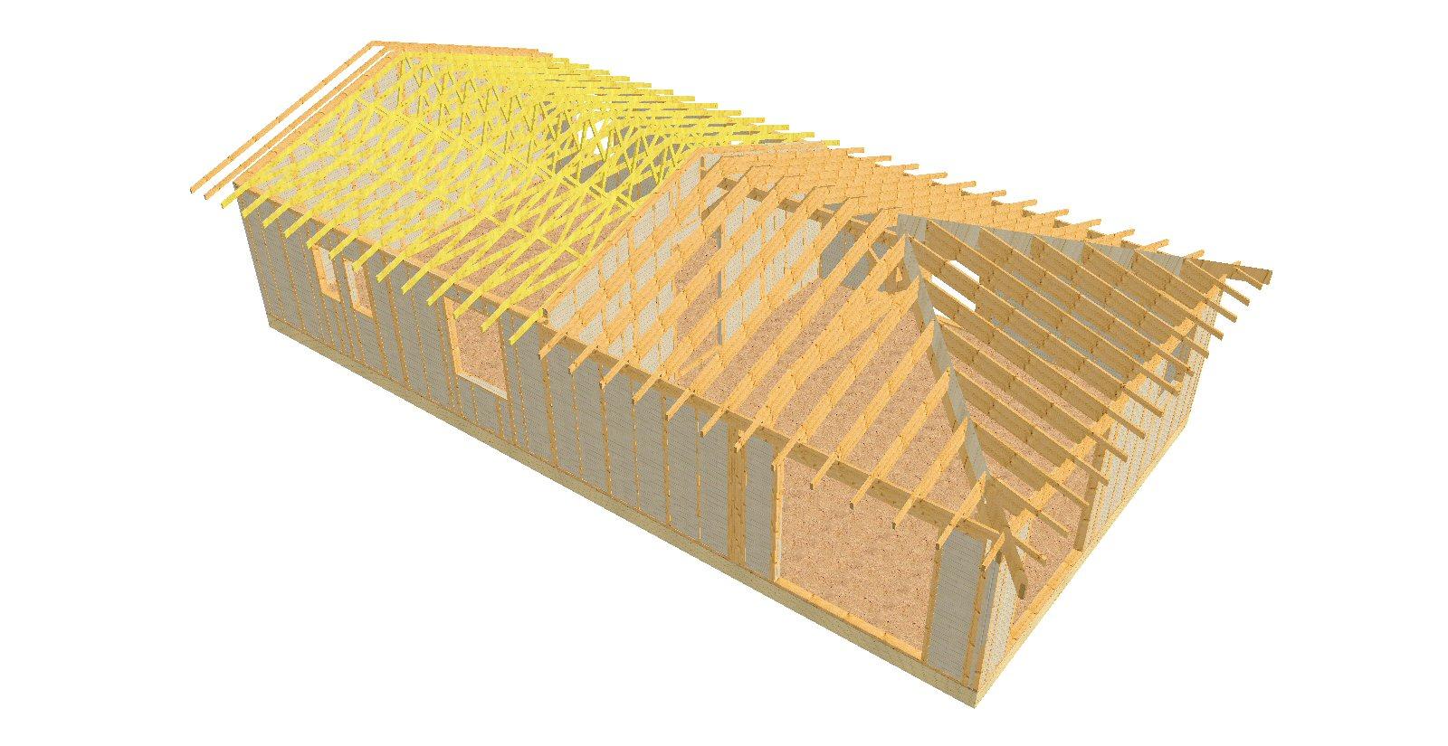 vue 3D de l'ensemble