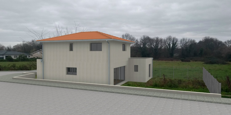 vue 3D du projet