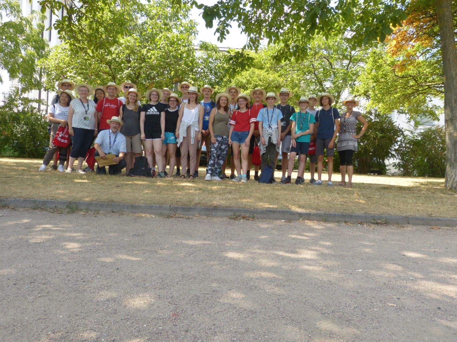 Gruppenfoto der Gruppe unserer Pfarrei