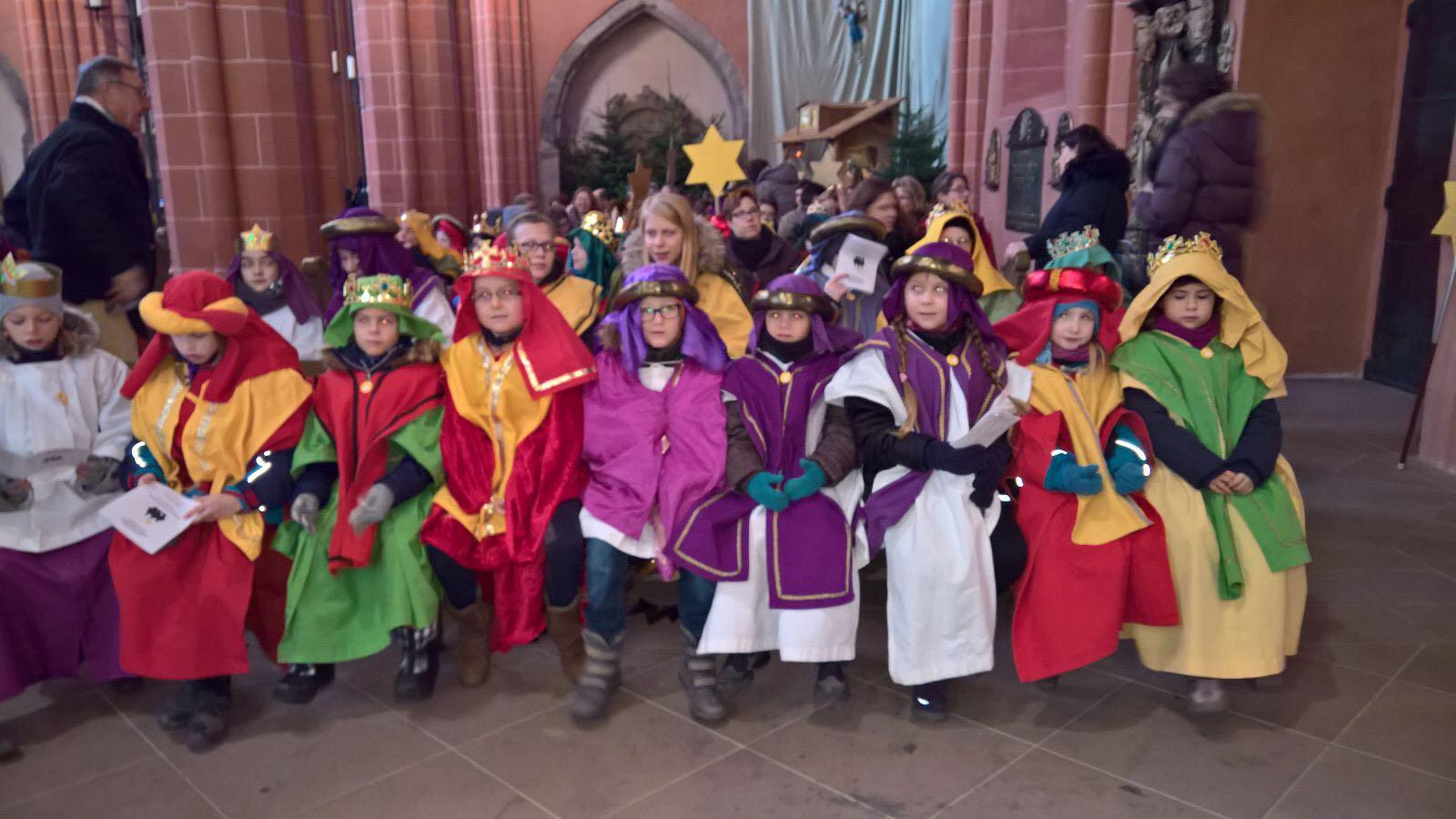 Die Sternsinger von St. Laurentius ...im Dom