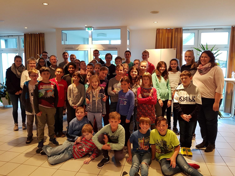 Teilnehmer Messdiener- und Jugendtag 2017 mit Betreuern
