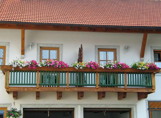 Balkon Ferienwohnung Naderhirn