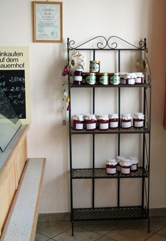 Selbstgemachten Marmeladen &  Honig aus der Region