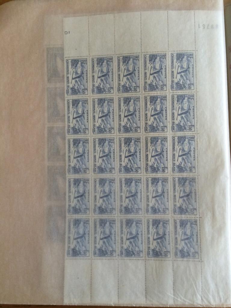france collection de planches de timbres pr sidence. Black Bedroom Furniture Sets. Home Design Ideas