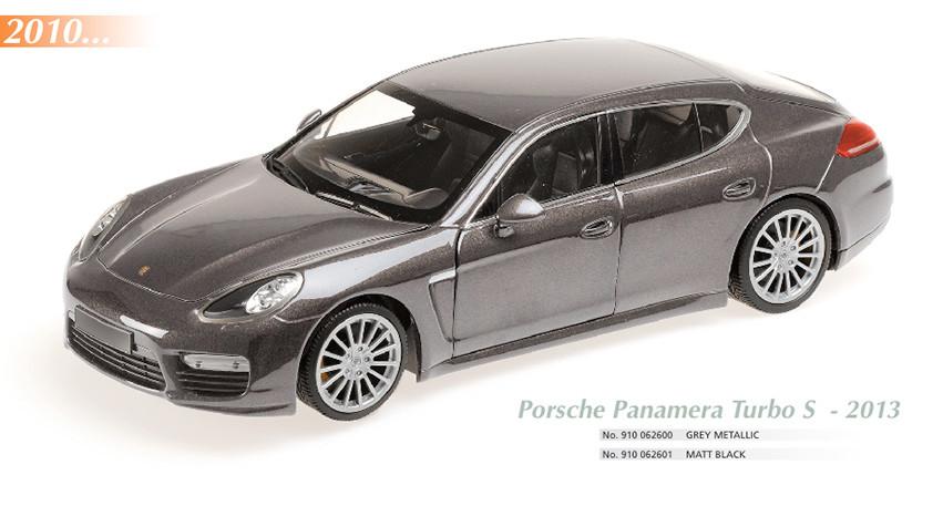 Maxichamps, Porsche Panamera 2010, Scale 1:18