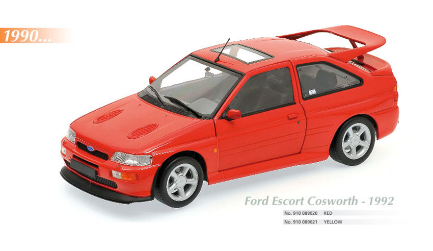 Maxichamps, Ford Cosworth, 1992, Scale 1:18
