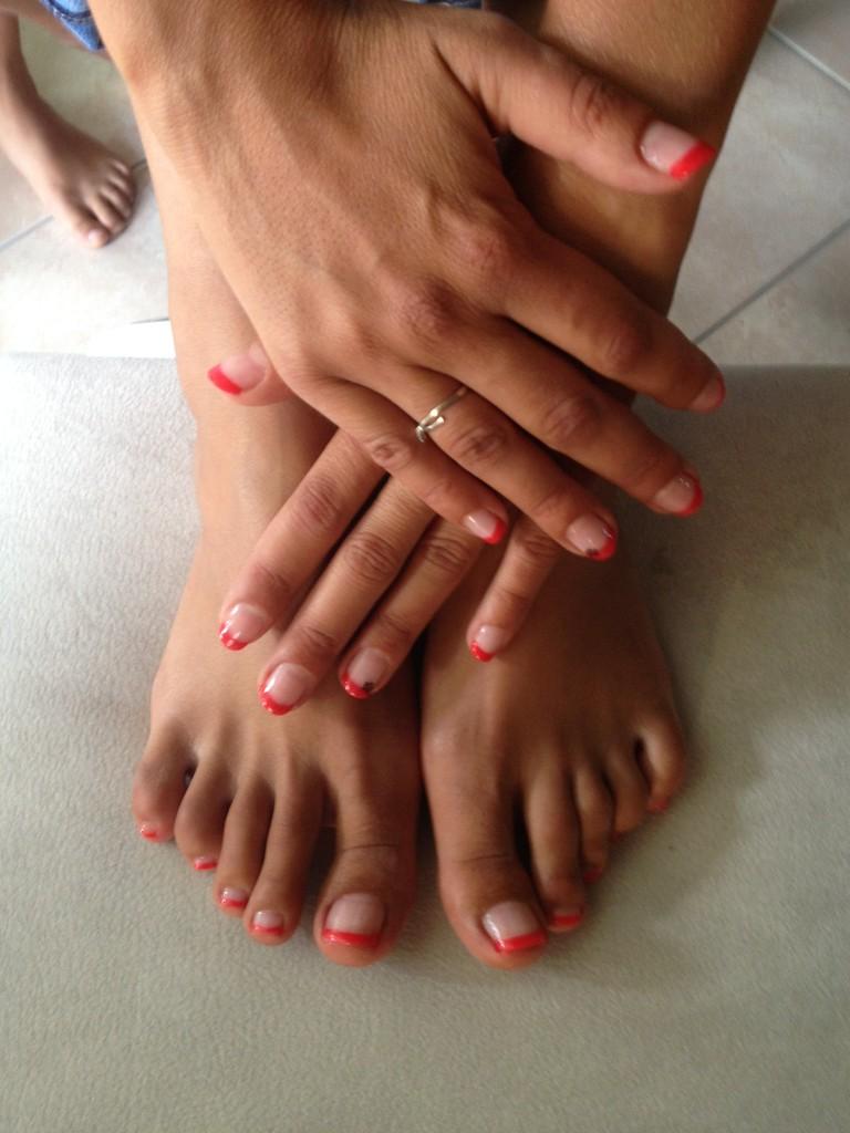 semi-permanent mains et pieds