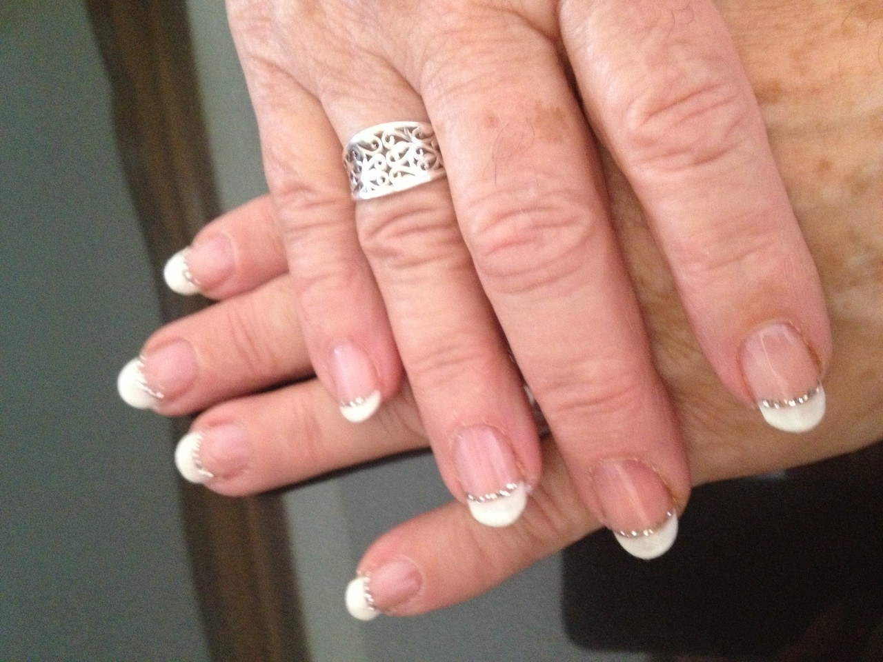 french sur ongles naturels semi permanent