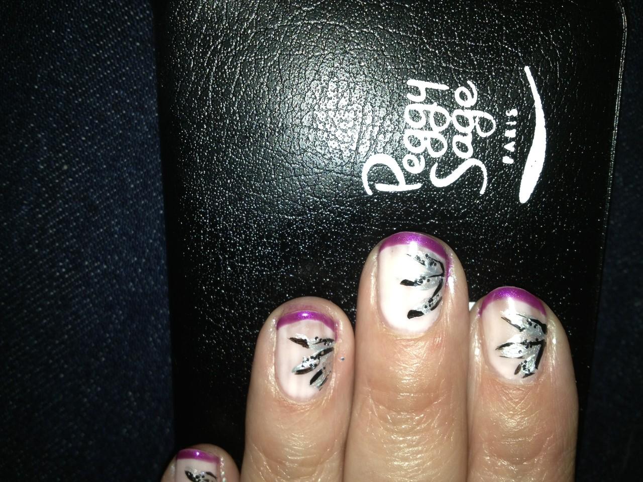 nail art sur sur ongles naturels