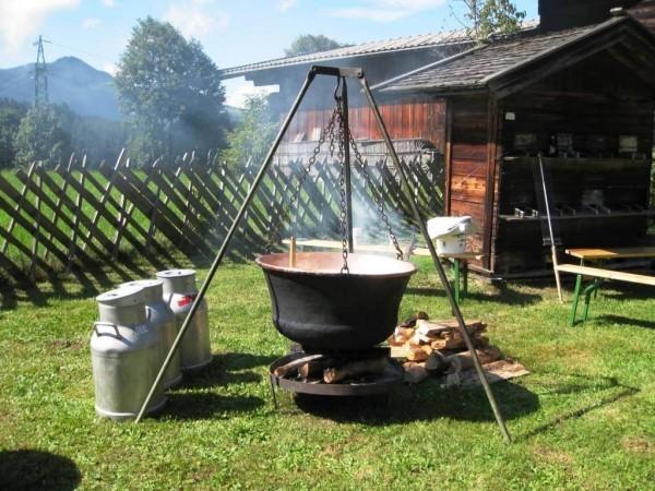 Käseproduktion nach alter Tradition
