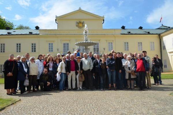 Sodener Reisegruppe besucht das Schloss Königswart bei Marienbad