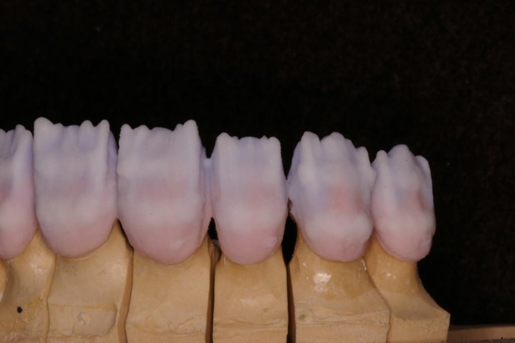 マメロンにはオペーシャスボディーを染込ませT-Blue、Cエナメルによる白帯