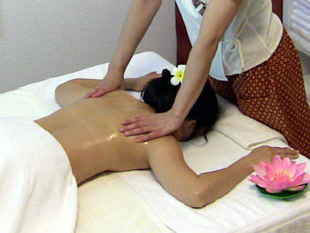 Öl-Massage