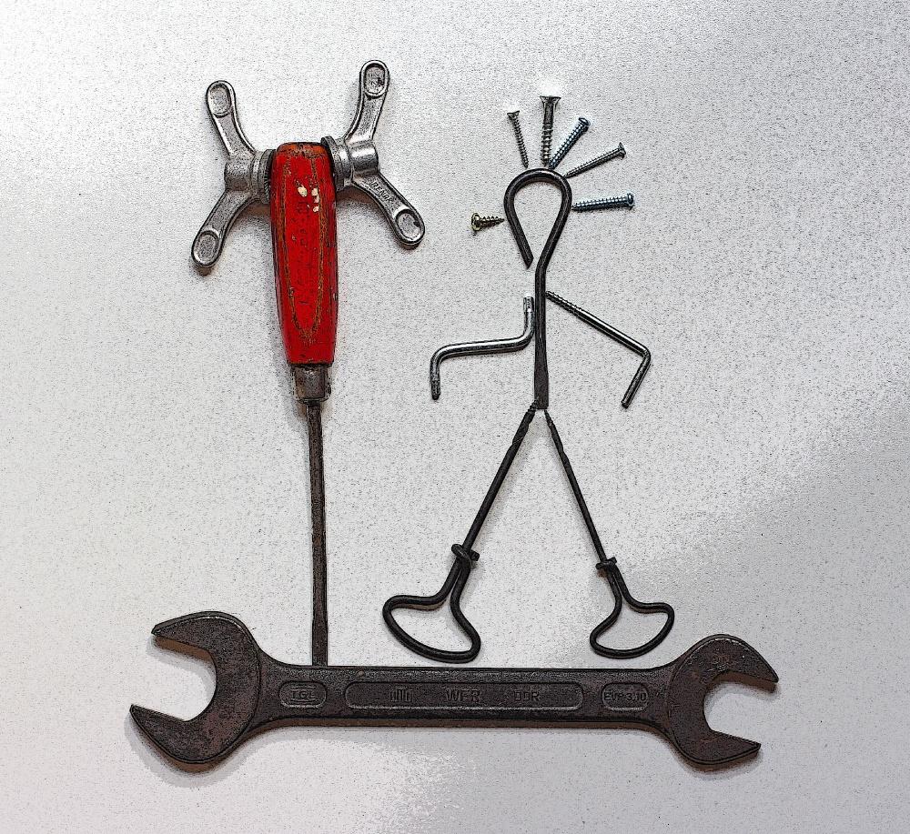 """Bild des Monats """"Altes Werkzeug"""""""
