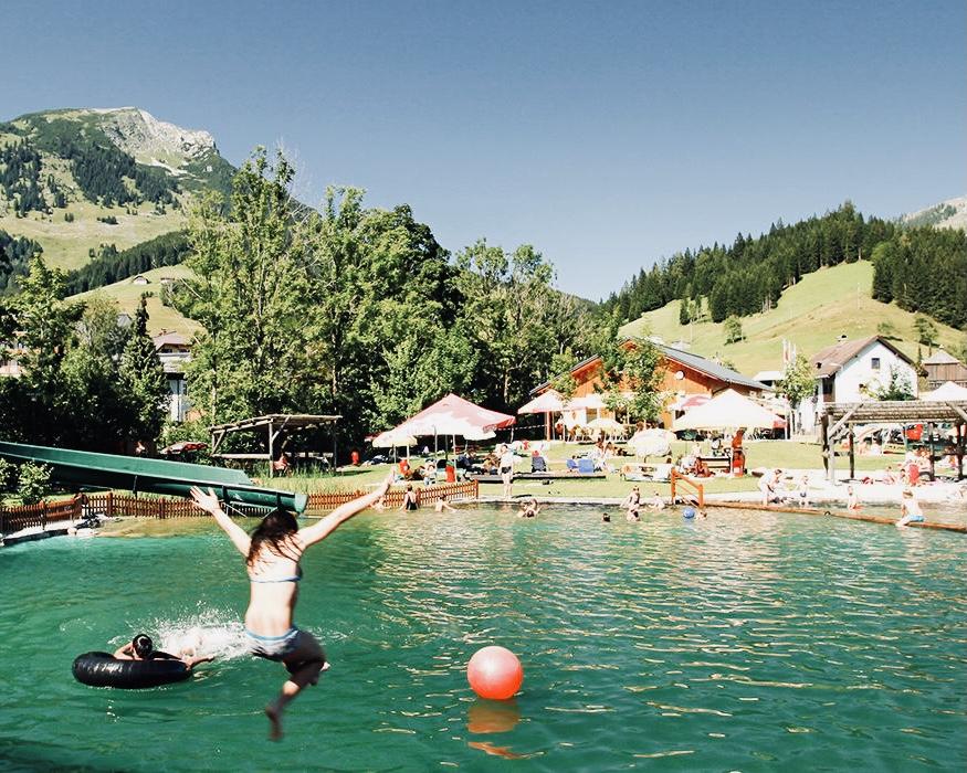 Wasserpark Russbach © Tourismusverband Russbach