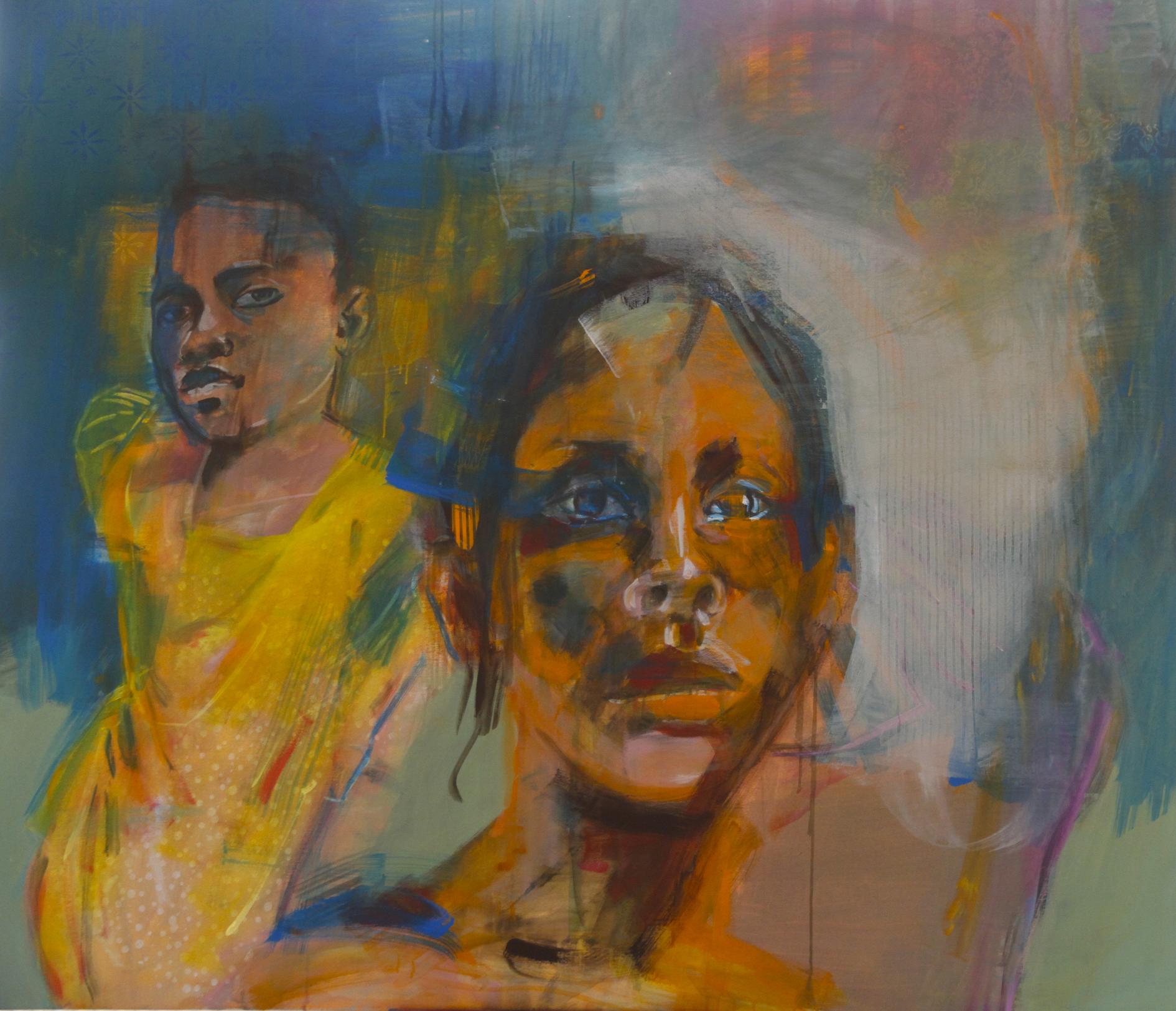 Schattenfein 1  | 160 x 175 cm