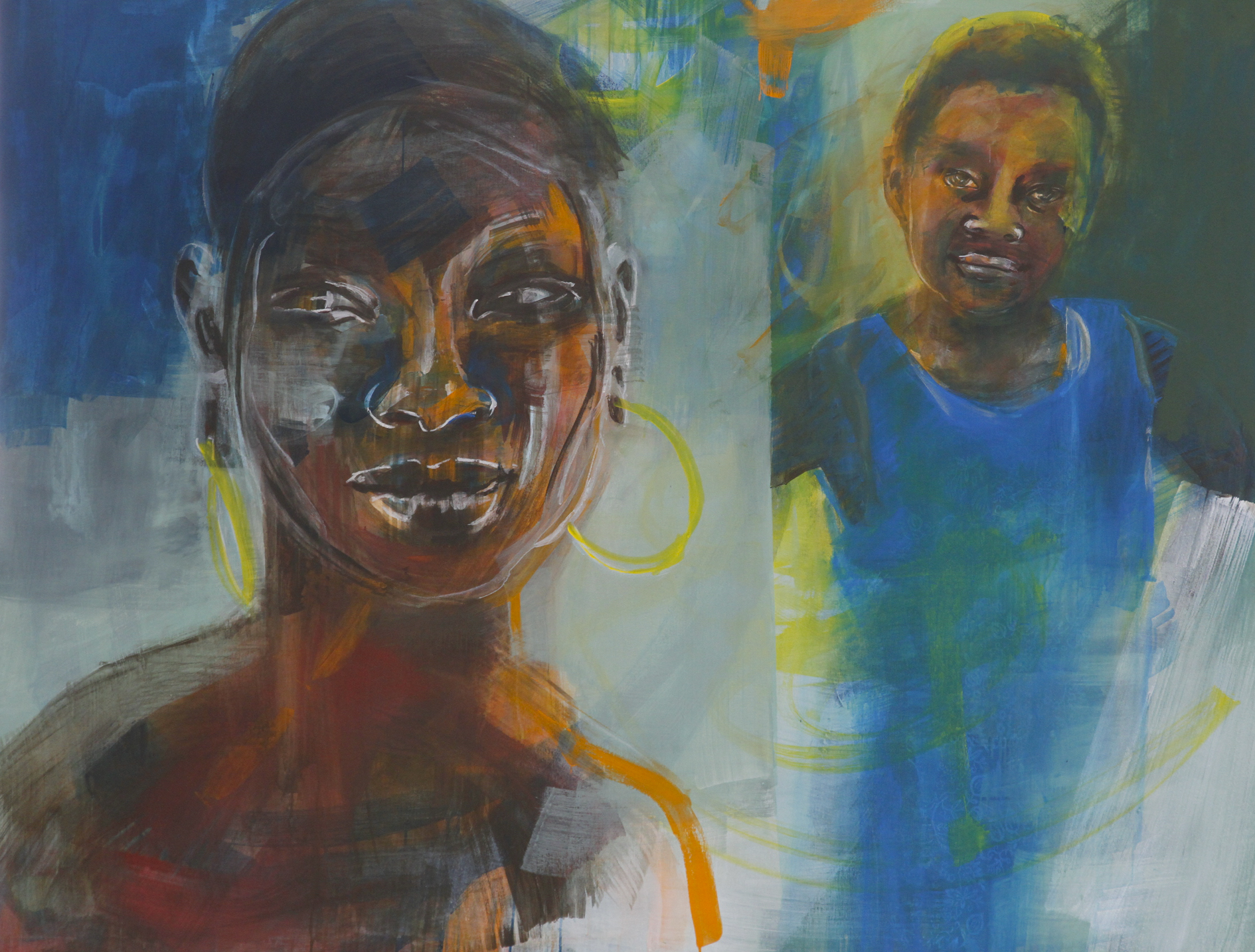 Schattenfein 2 | 150 x 180 cm