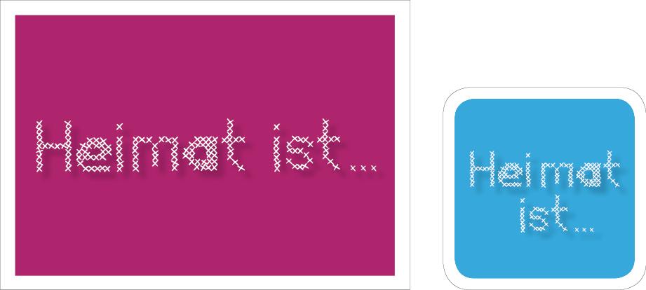 Postkarte und Bierdeckel für den Bundesweiten Vorlestag in Mainz