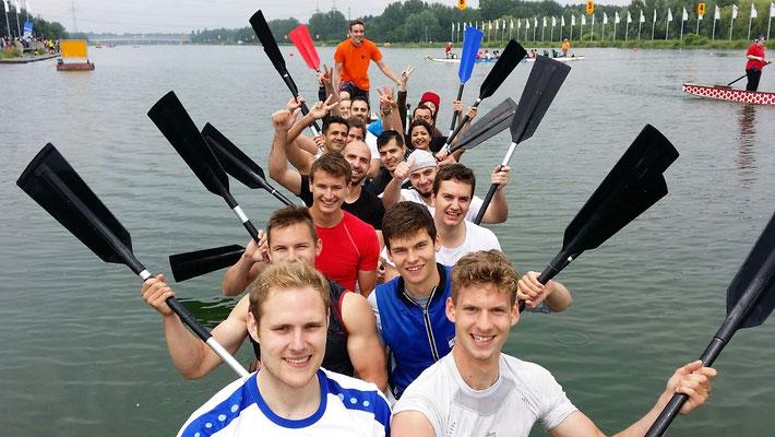 12.06.16 - Drachenbootrennen am Fühlinger See - wir haben den 2. Platz belegt!