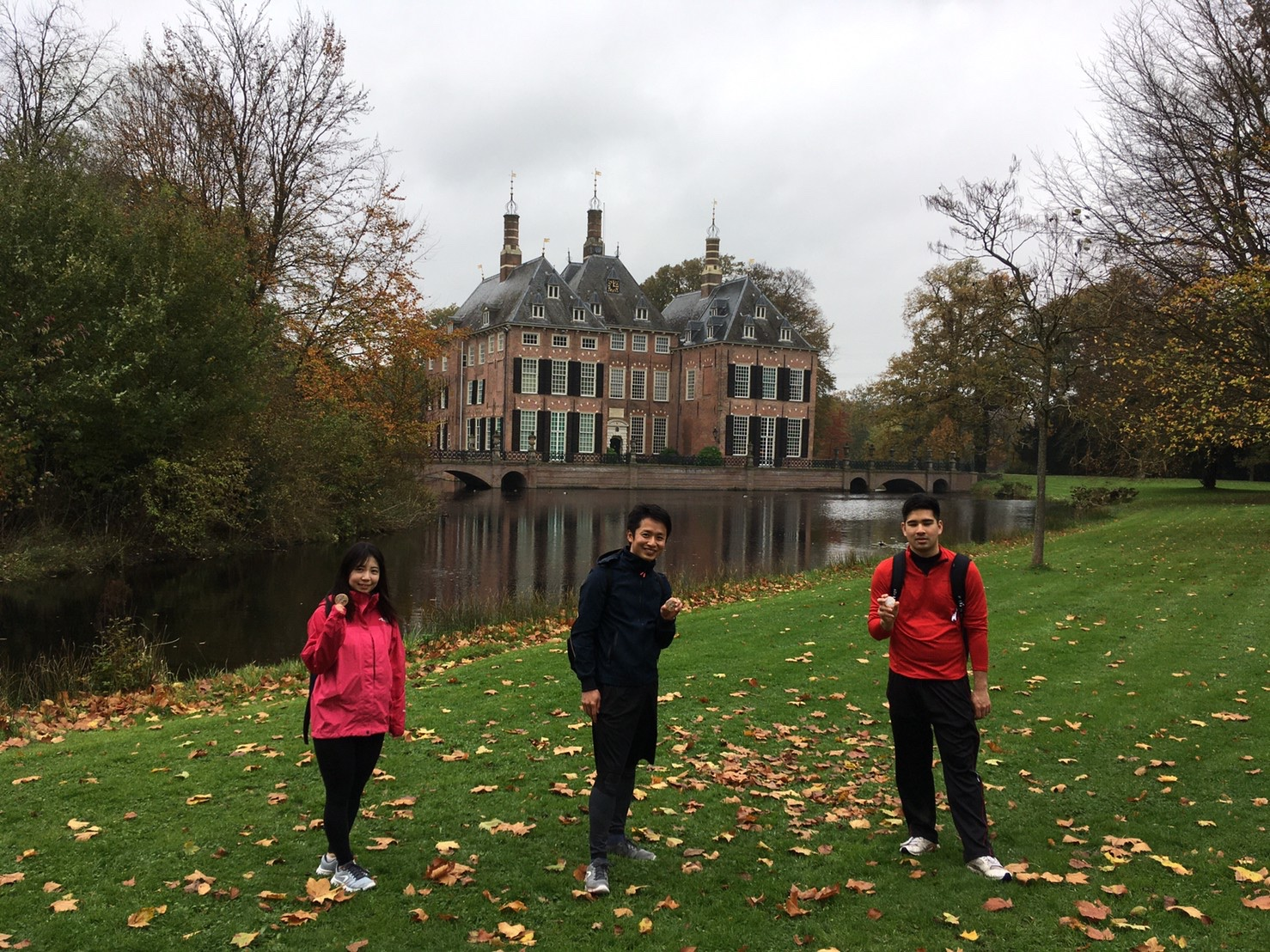Photo Provider:T.S.・Place:the Hague, the Netherlands・Comment:On 1 November, we walked in the Hague and enjoyed the beautiful view so much. We hope a friendship between Nijmegen and Higashi-matsuyama City will continue.