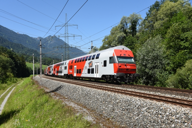 Juli 2020: ÖBB City Shuttle Feldkirch - Bludenz, Nenzing/A 7.7.2020