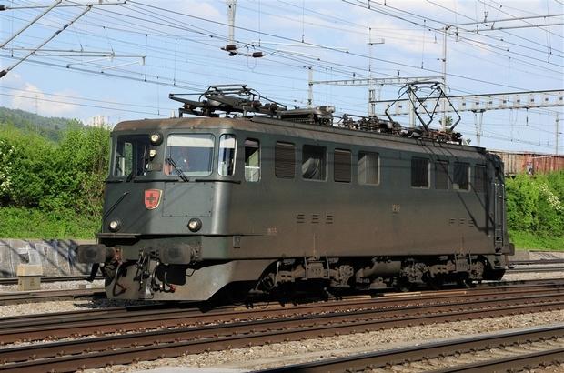 SBB Ae 6/6 Bahnfoto P.Trippi