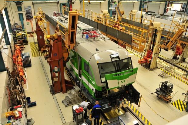 Vectron Siemens VR Yhtymä Oy 3304 Bahnfoto P.Trippi