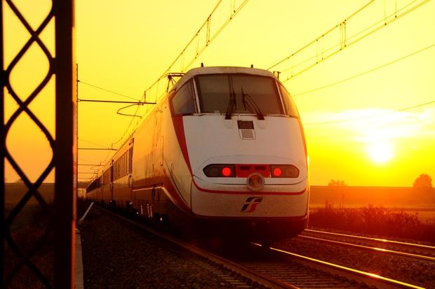 Trenitalia FS E.414 Bahnfoto P.Trippi
