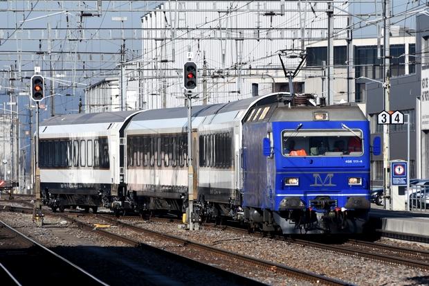 Müller Gleisbau Re 456 Bahnfoto P.Trippi