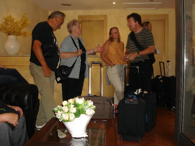 Zimmerbezug im Hotel