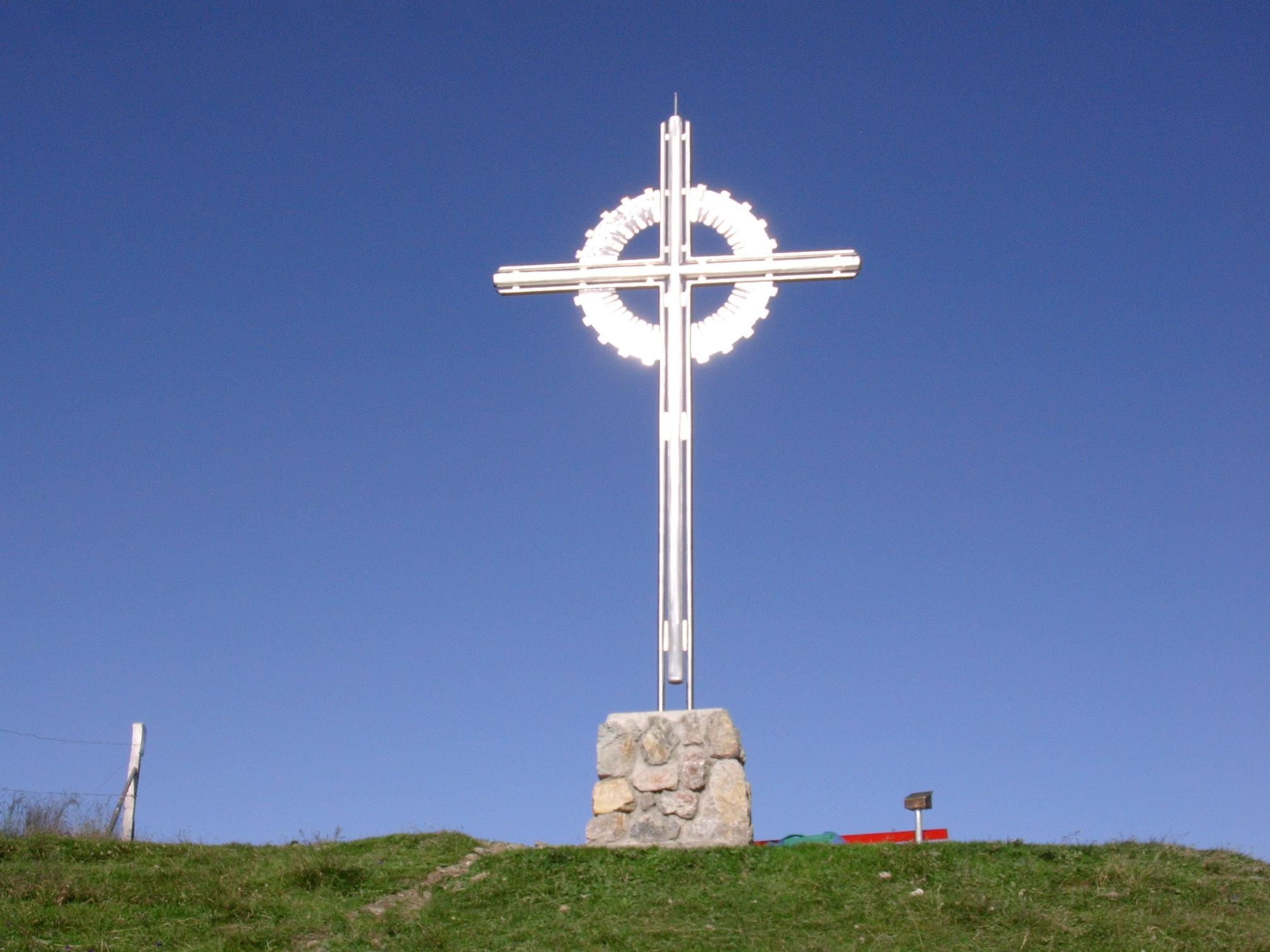 Gipfelkreuz am Schatzberg