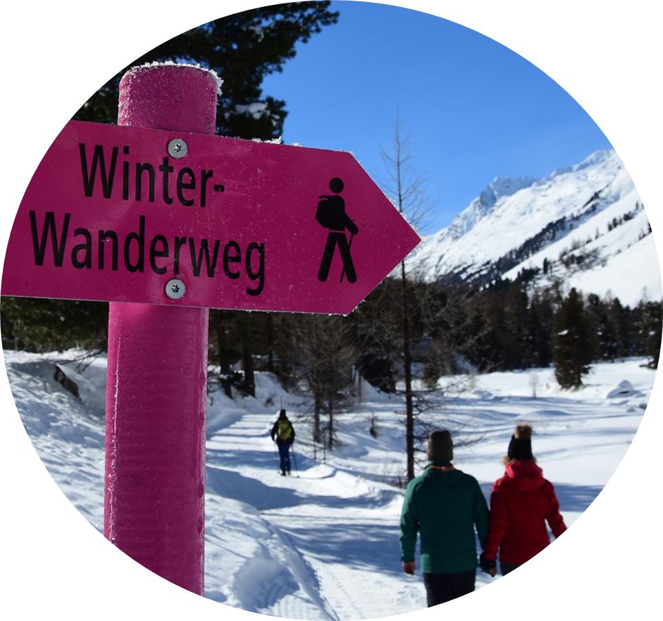 Wandern Kerenzerberg Winter
