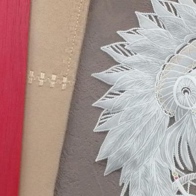 <h2>cadre Indienne en dentelle de papier - détails plumes<h2>