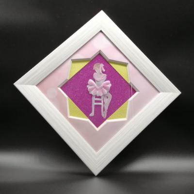 <h2>cadre danseuse en dentelle de papier<h2>