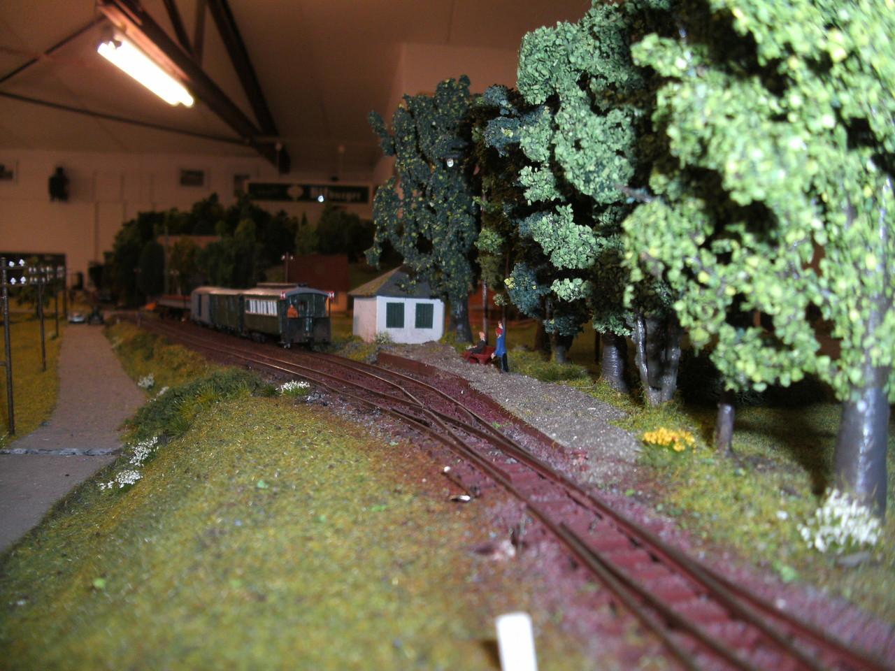 Der Haltepunkt Kerkerbach West