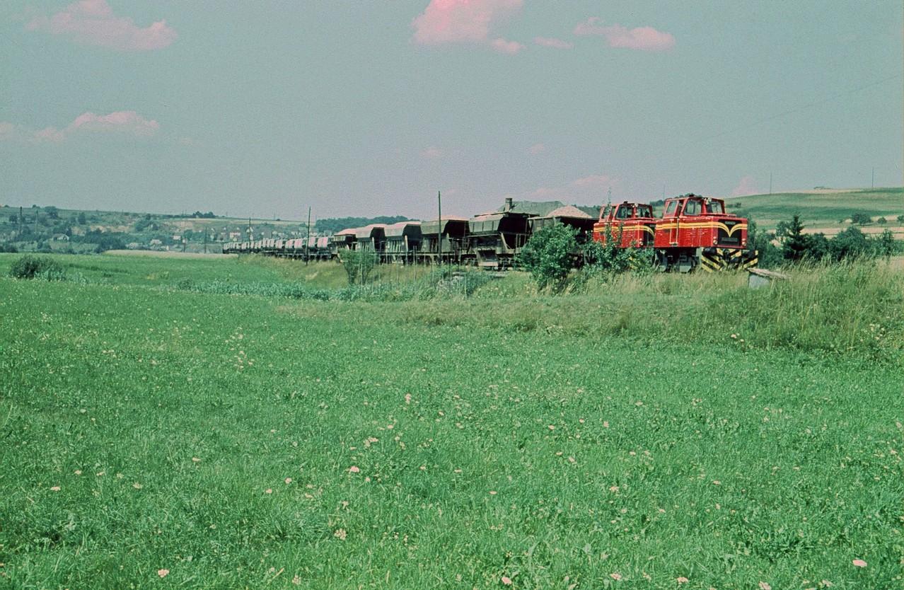 Gemeinsam schafften sie auch schwerste Züge, hier vor Kerkerbach