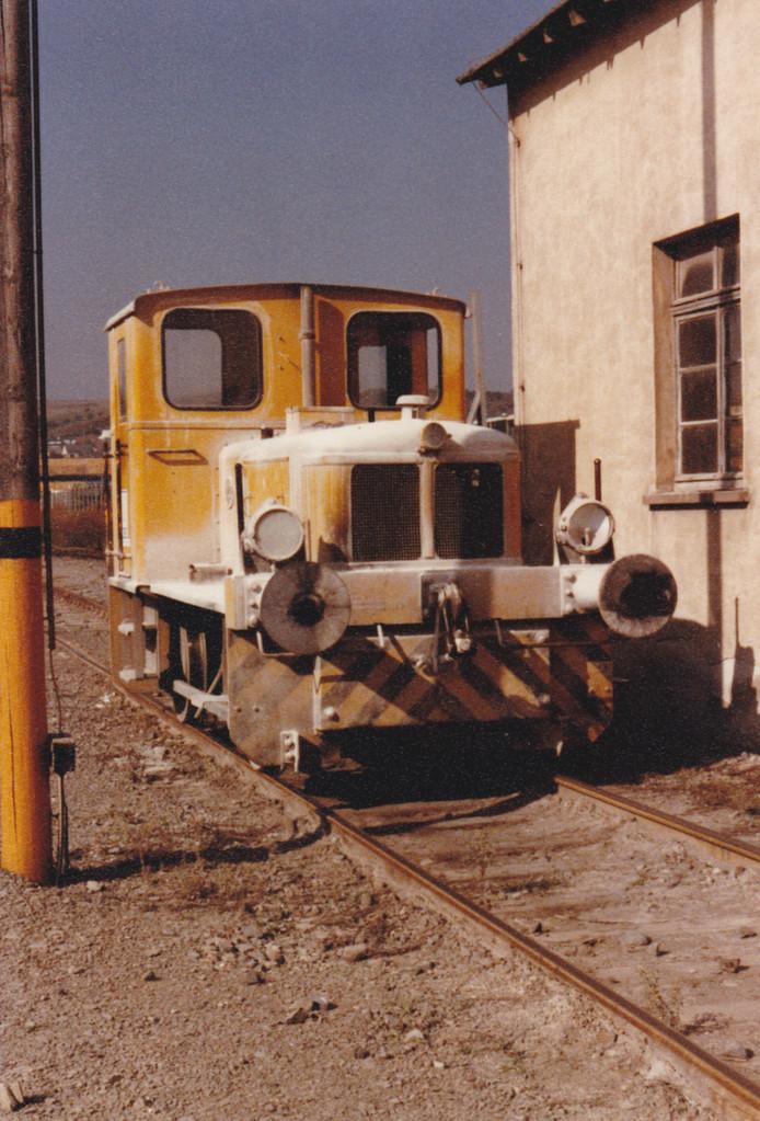 Die Werkslok der RWK am 10.10.1979