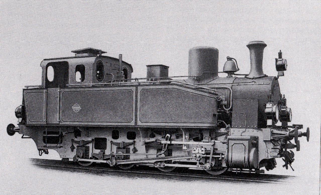 Lok 12 und Lok 13 waren baugleich, hier ein Werkfoto