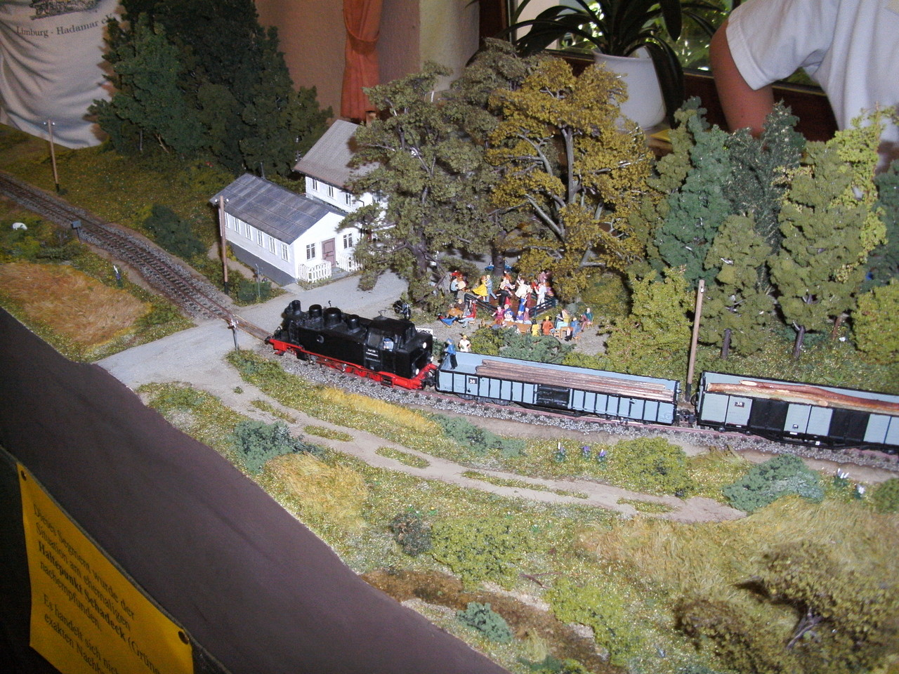 Und während der Ausstellung meldete sich Thomas Pfadenhauer bei uns und brachte sein schönes Modell der Lok 15 ins Rennen