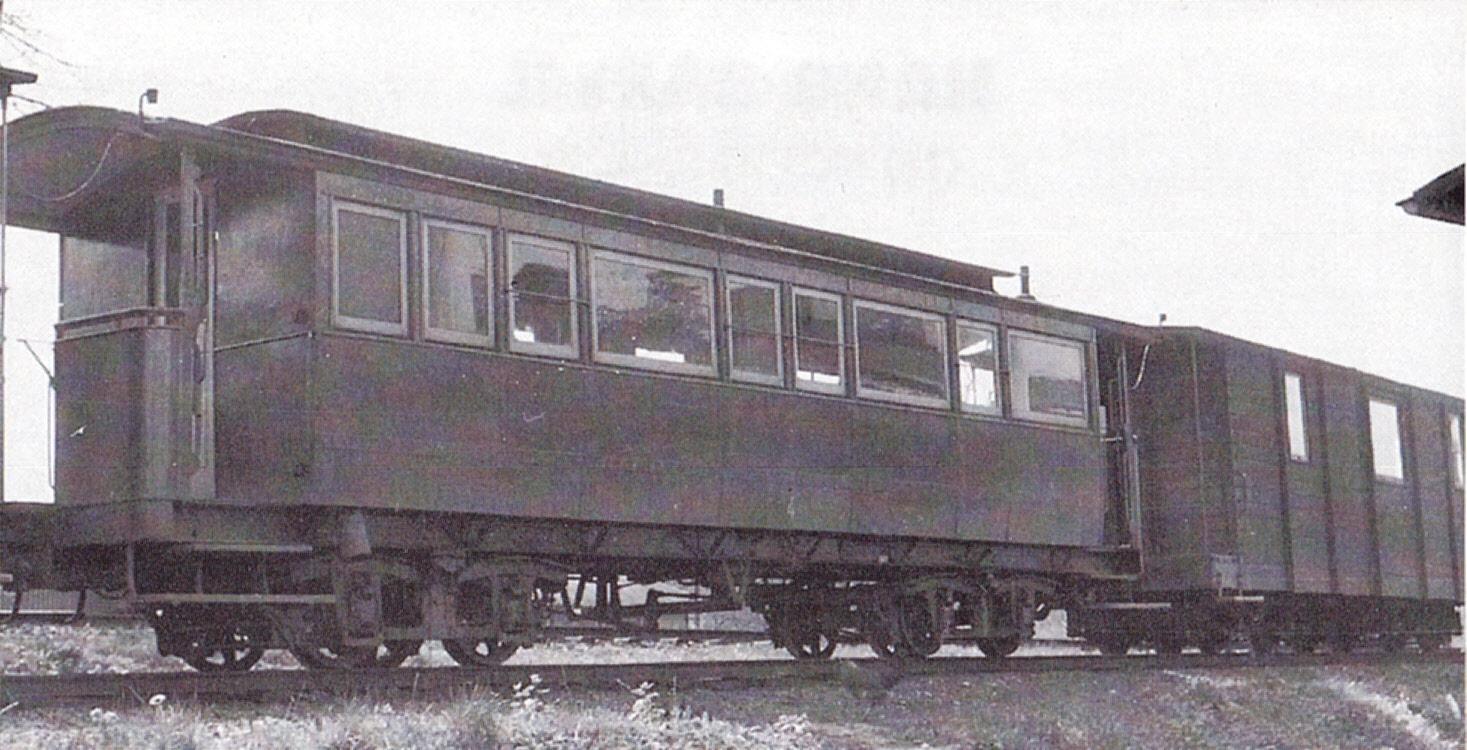 Wagen 19 im Hintergrund rechts