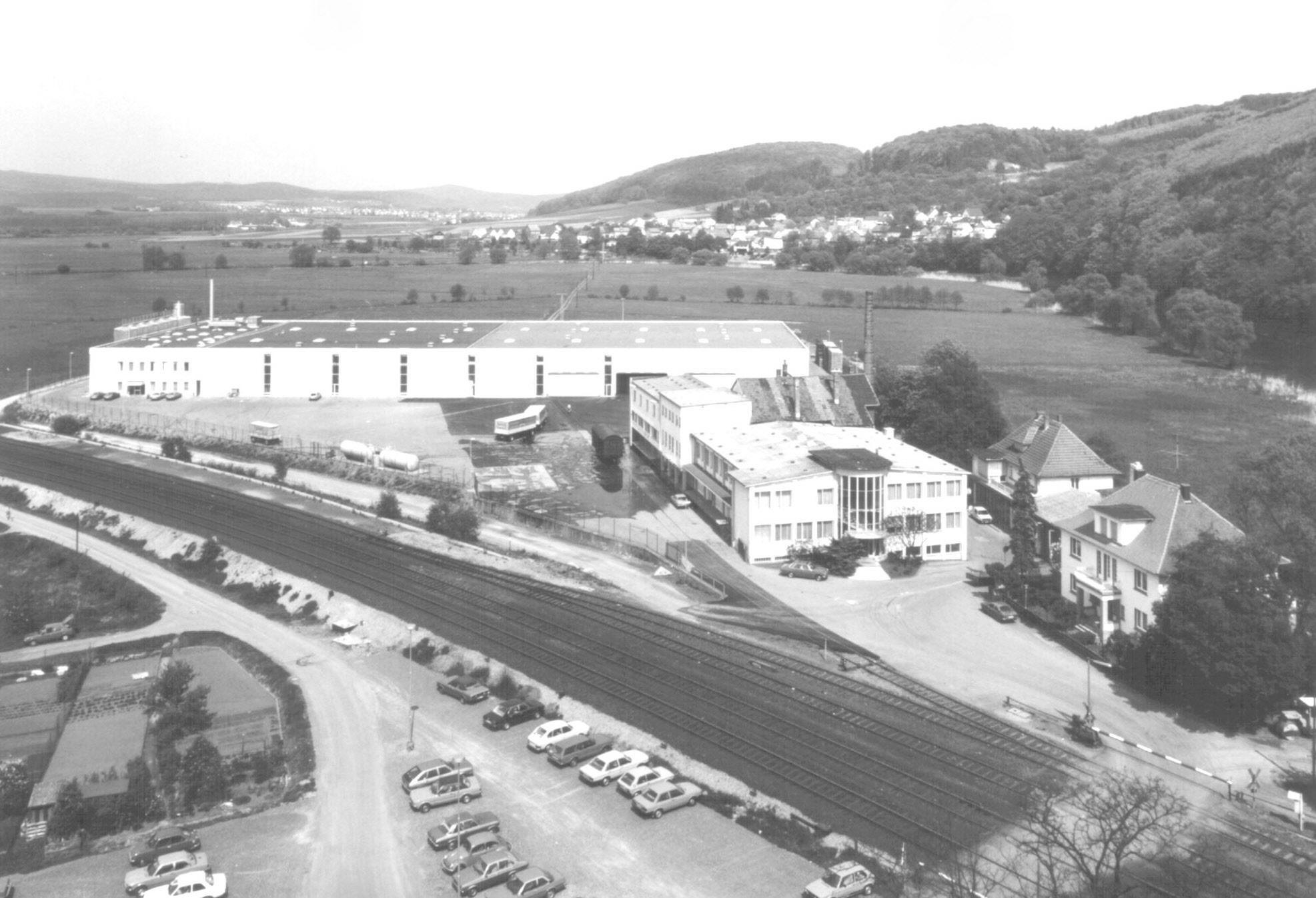 Das Firmengelände der Fa. Selters heute           Foto:  Fa. Selters Minaeralquelle