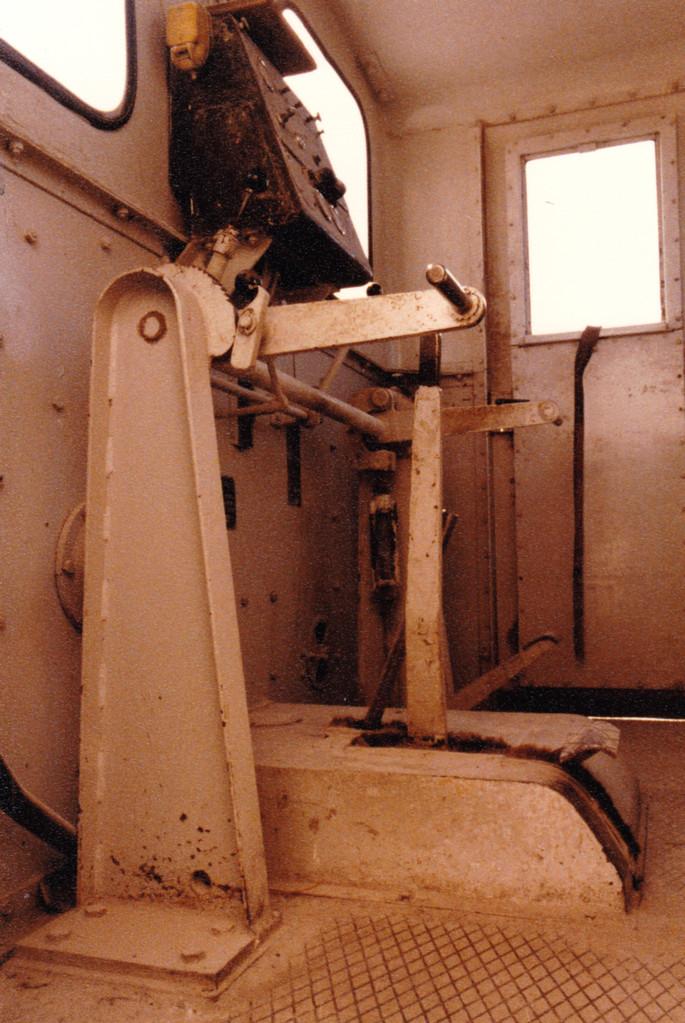 11.11.1979 Die RWK Lok von Innen