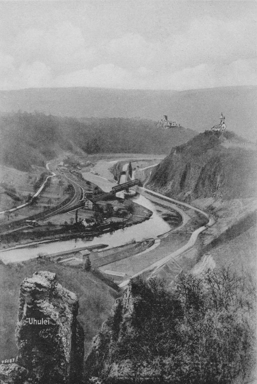 Blick auf den Abzw. Hohenrhein ca 1910