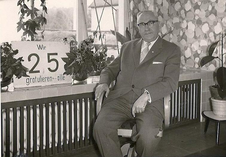 Herr Kuhn kam 1945 zur KB und wurde 1953 Direktor der KB