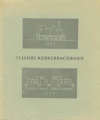Der Einband der Festschrift aus dem Jahre 1959